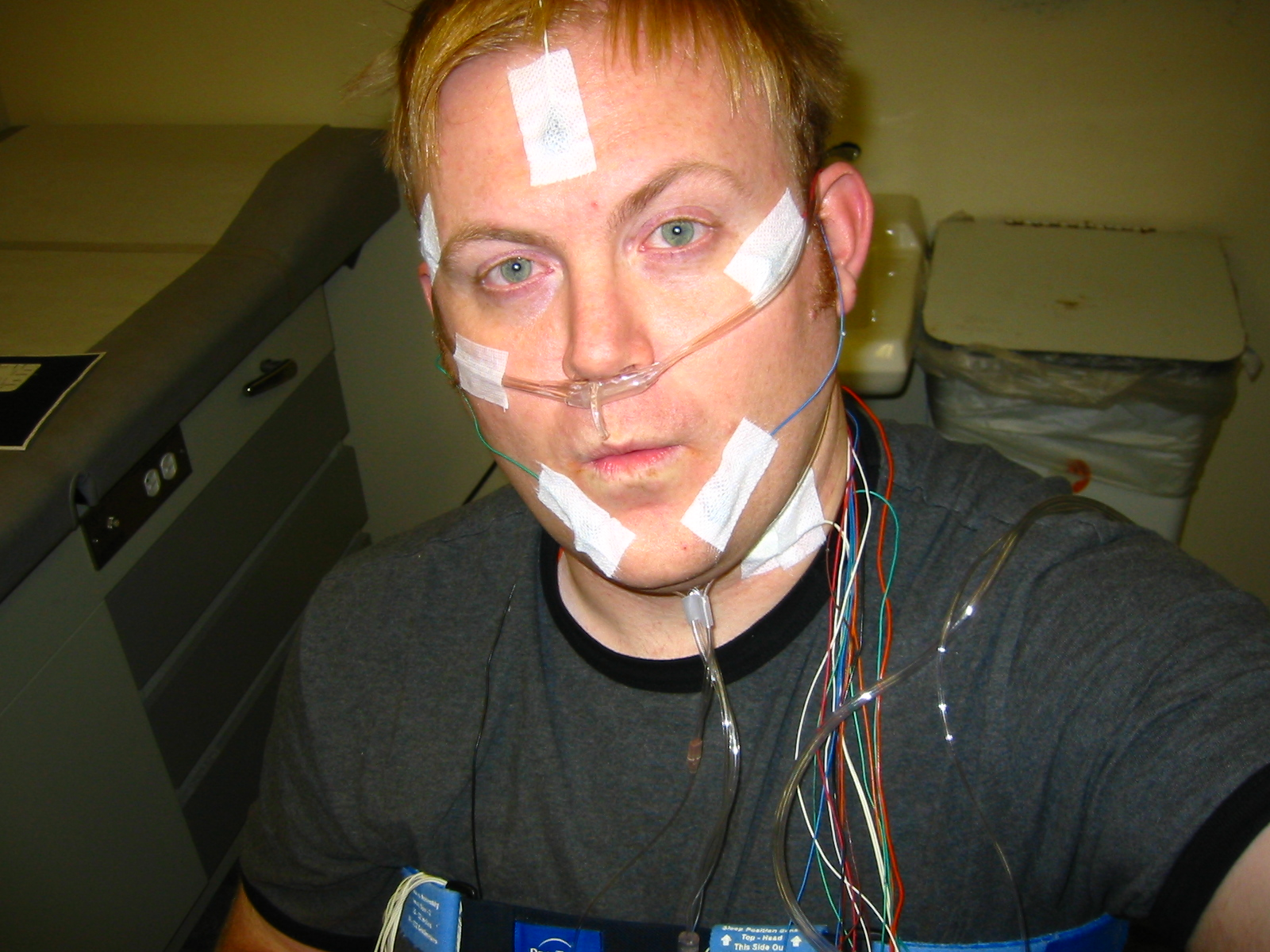 sleep study If you suspect that you have sleep apnea, the usual first step is to discuss your   a definitive diagnosis of sleep apnea can be made only with a sleep study.